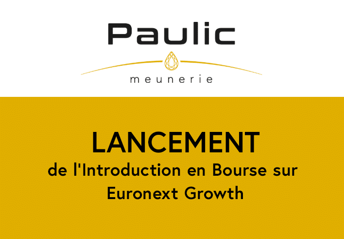 Lancement de l'introduction en bourse