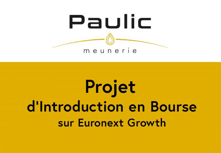 Projet d'Introduction en Bourse
